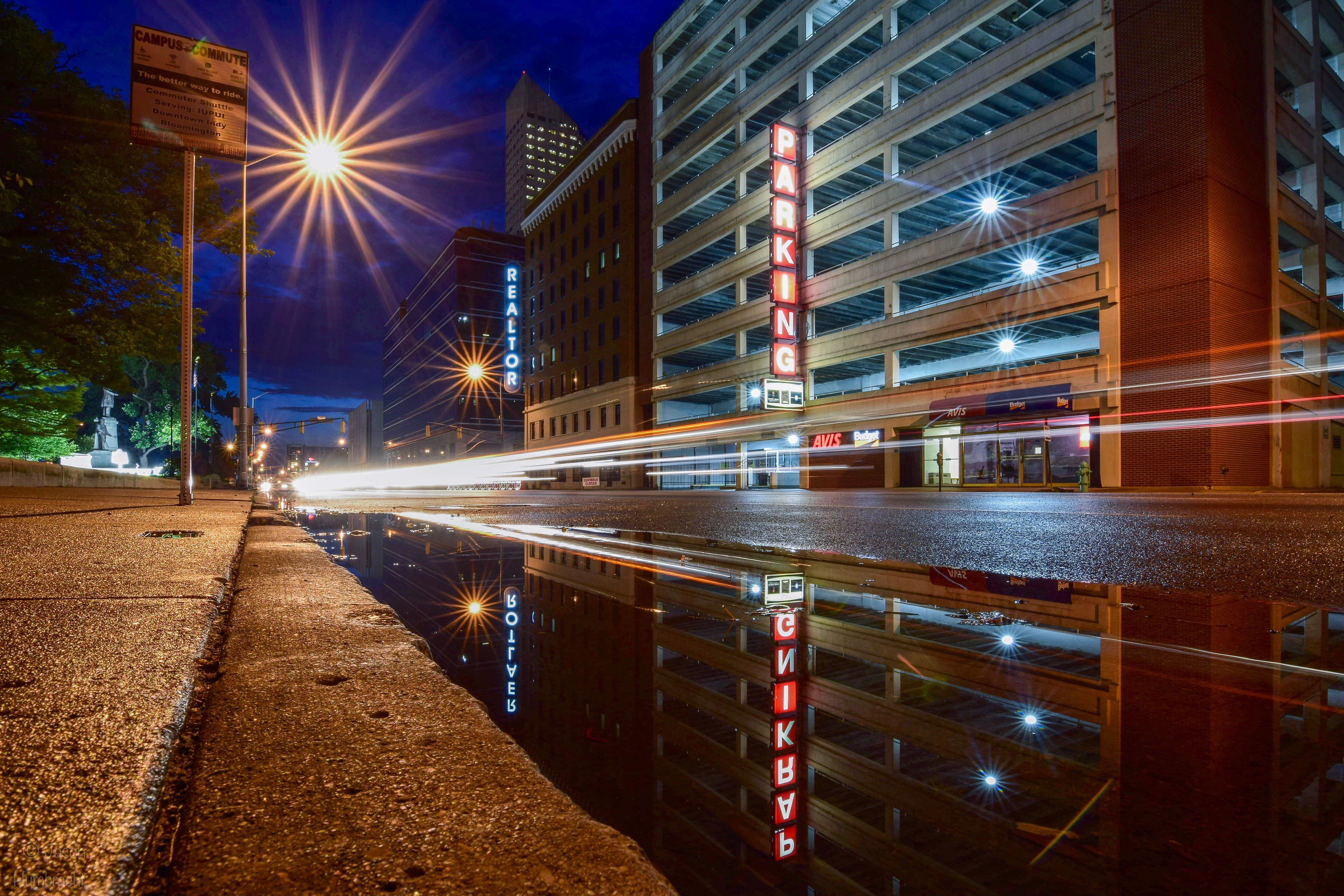 Light Trails Long Exposure Photography Night Photography